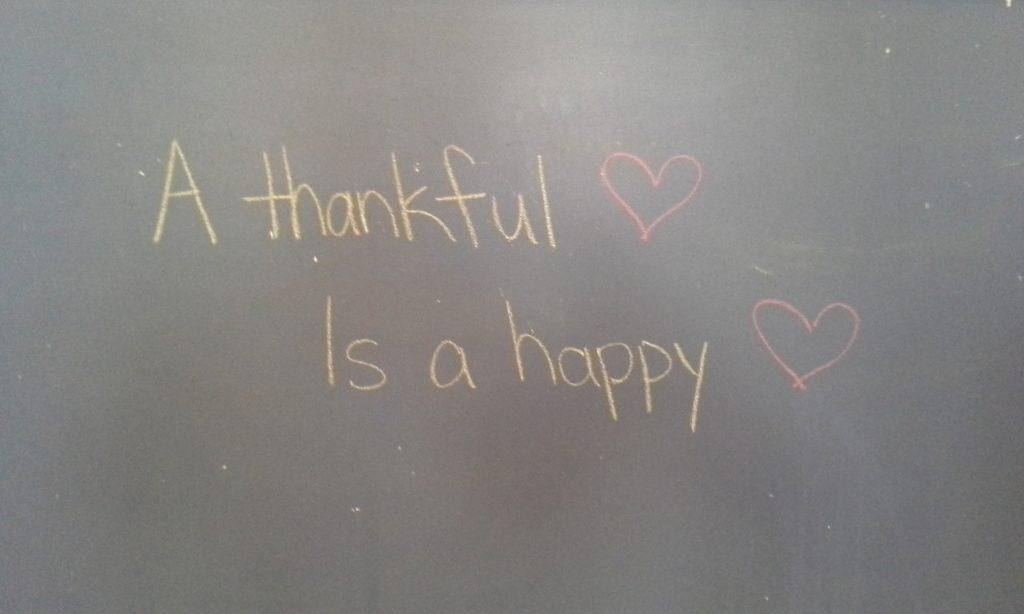 gratitude happier life